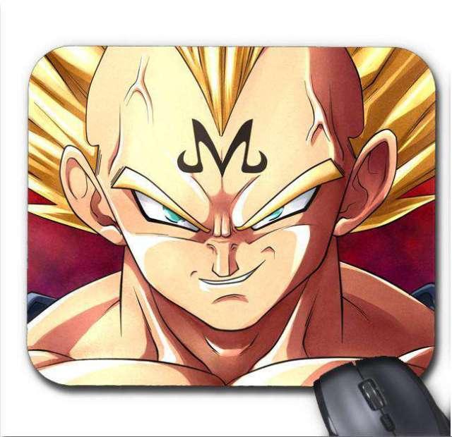 Tapis de Souris Dragon Ball Z Majin Vegeta 2