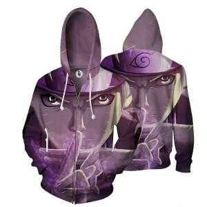 Veste à capuche 3D All Over Naruto Kage Bunshin
