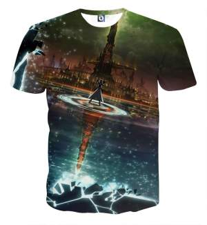 T Shirt 3D All Over Sword Art Online Kirito Destiny