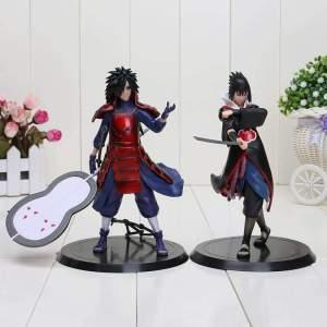 Lot de 2 Figurines Naruto Shippuden Sasuke & Madara