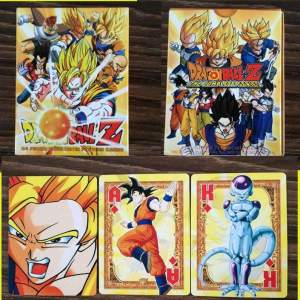 Cartes à jouer Dragon Ball