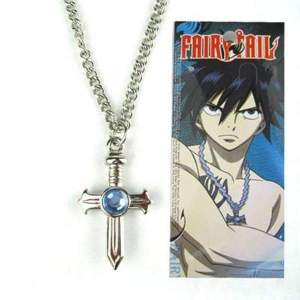 Collier croix Fairy Tail  Gray