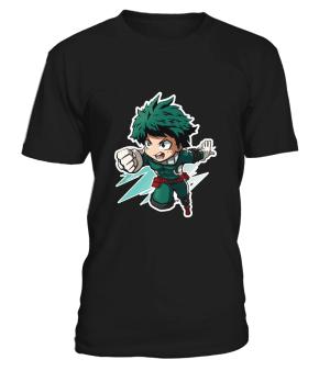 T Shirt My Hero Academia Deku Chibi