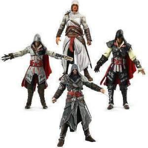 Figurine Assasin's Creed disponible en 4 modèles