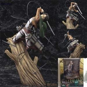 FigurineL'attaque des Titans Levi Attack