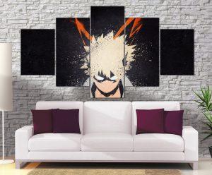 Décoration murale My Hero Academia Katsuki Bakugo