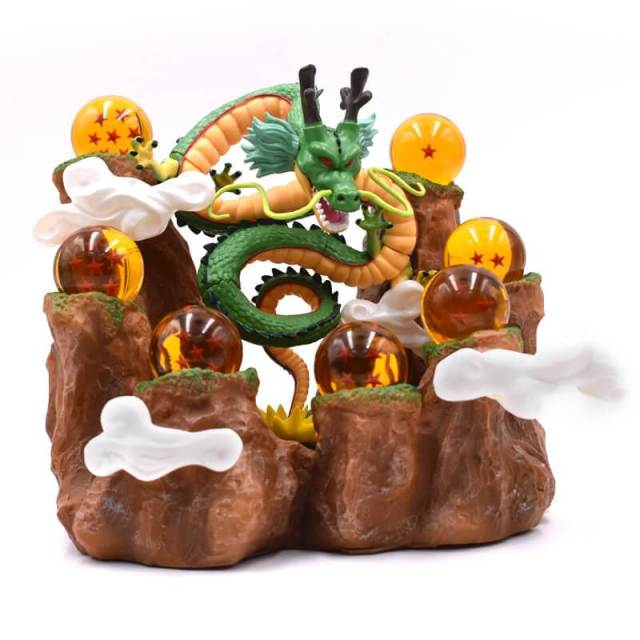 Figurine Dragon Ball Z Shenron + boules de Cristal