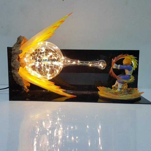 Lampe Dragon Ball Z Vegeta Super Saiyan Attaque Finale