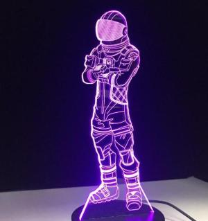 Lampe LED Fortnite Space Skin