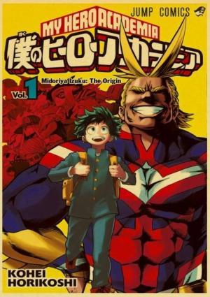 Poster My Hero Academia All Might X Izuku