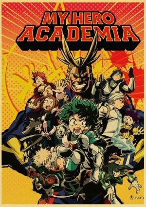 Poster My Hero Academia Heros