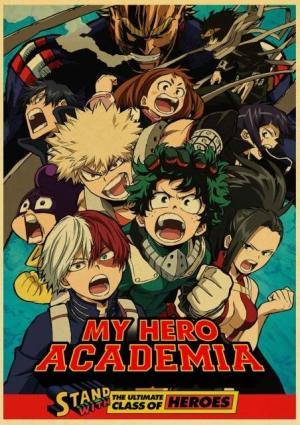 Poster My Hero Academia Ultimate Heroes