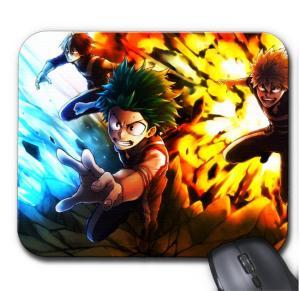 Tapis de Souris My Hero Academia Deku X Katsuki X Shoto