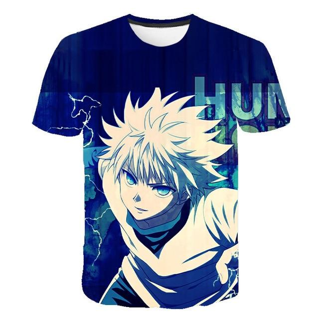 T Shirt 3D Hunter X Hunter Kirua