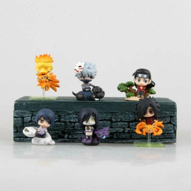Lot de Figurines Naruto Chibi
