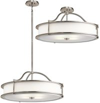 Kichler Emory Medium 4 Light Ceiling Pendant / Semi Flush ...