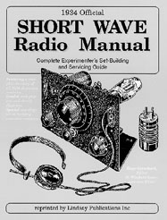 1934 Official Short Wave Manual By Hugo Gernsback
