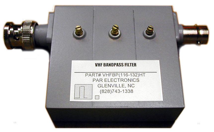 Par Vhfbp Aero Band Pass Filter