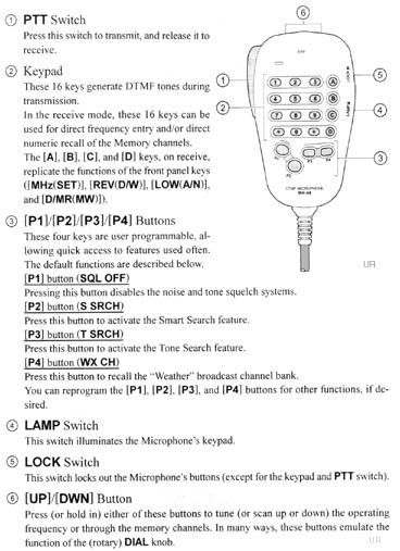 microphone cable wiring diagram bmw e39 parts yaesu ft-2900r, ft2900r mobile transceiver