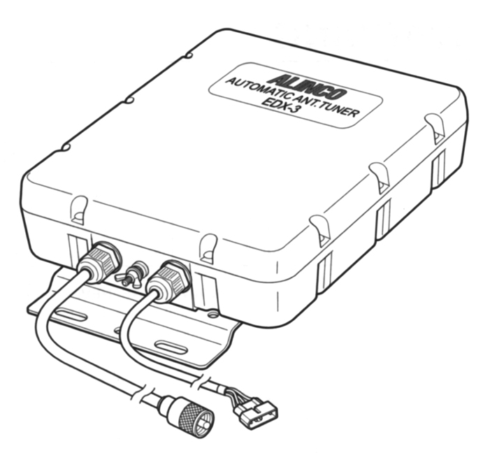 Alinco EDX-3 Automatic Antenna Tuner EDX2