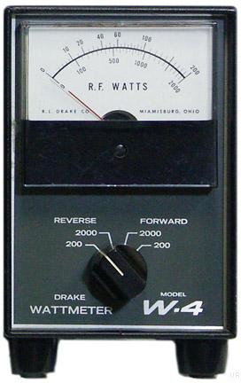 Drake W4 Directional RF Wattmeter W4 1513