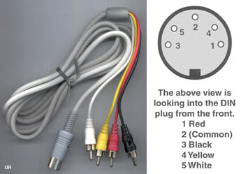 rca plug wiring diagram trailer din cable