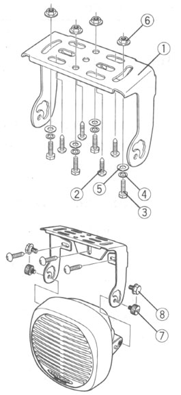 Kenwood KES5 Speaker Diagram
