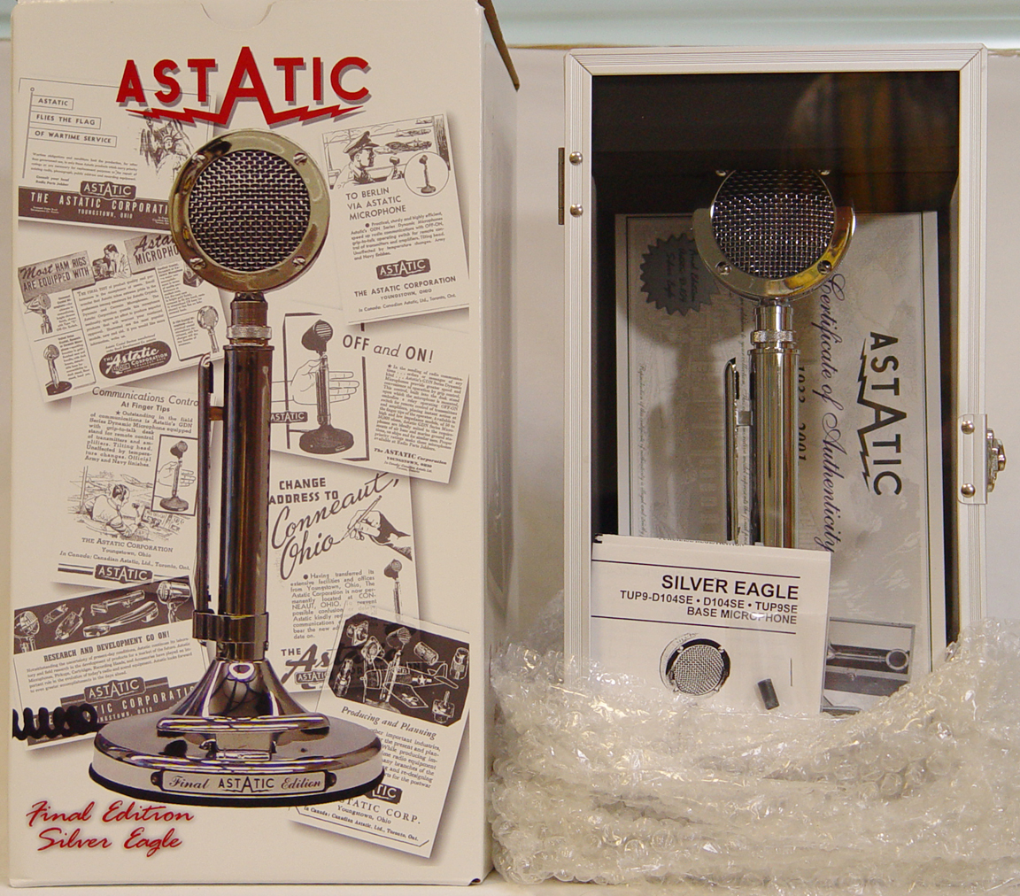 hight resolution of the astatic d104 silver eagle final edition