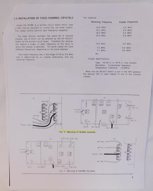 Used Amateur Radio Accessories