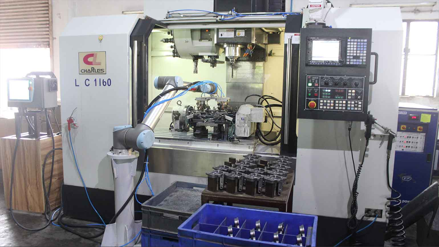 increase daily output by 75 thanks to a UR10 cobot in India