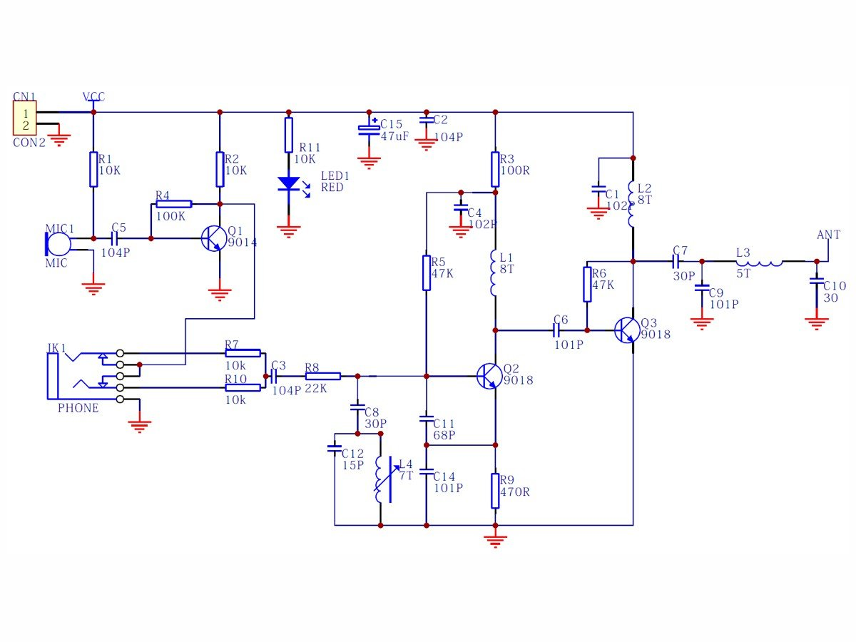 hight resolution of fm mic circuit diagram