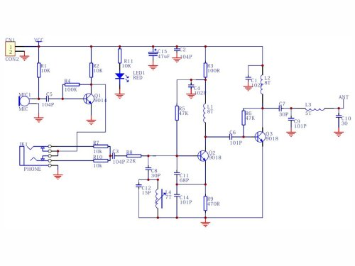 small resolution of fm mic circuit diagram