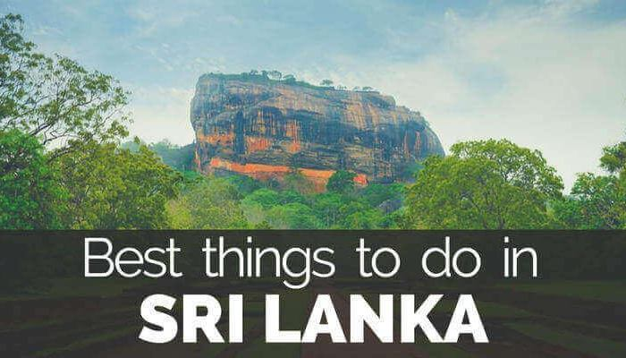 Best things to do in sri lanka