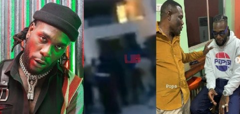 UCScreenshot20200524123654 Neighbours call in police officers to arrest Burna boy and his father over noise [Video]