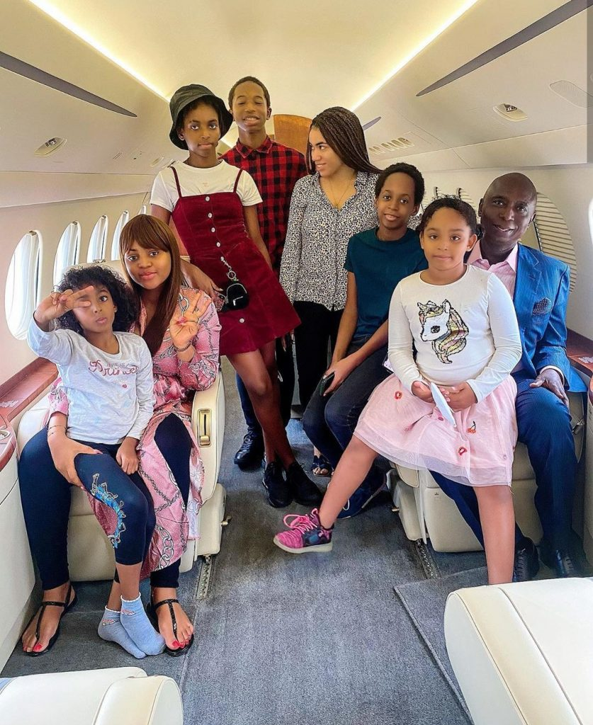 IMG_20200710_202452_309-837x1024 Ned Nwoko takes new mom, Regina Daniels, her co-wife and his kids on a shopping spree (Video)