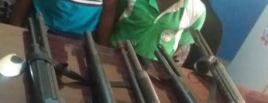 images Two thieves caught on camera stealing at a pharmacy in Oyo (video)
