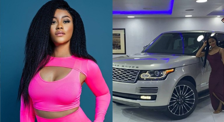 UCScreenshot20200913101735 Actress Damilola Adegbite flaunts her newly acquired Range Rover