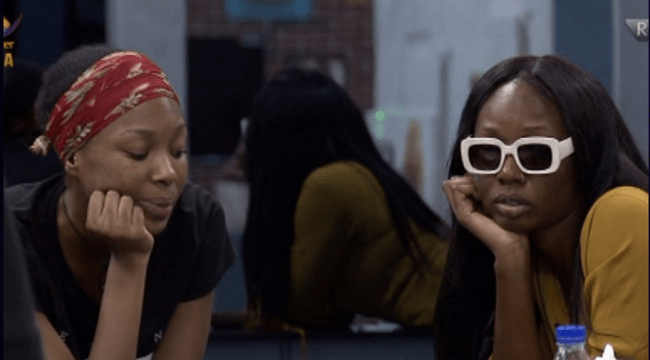 bbnaija-tolanibaj-and-vee-1 Vee Gives Reasons Why She Will Not Be Friends With Tolanibaj