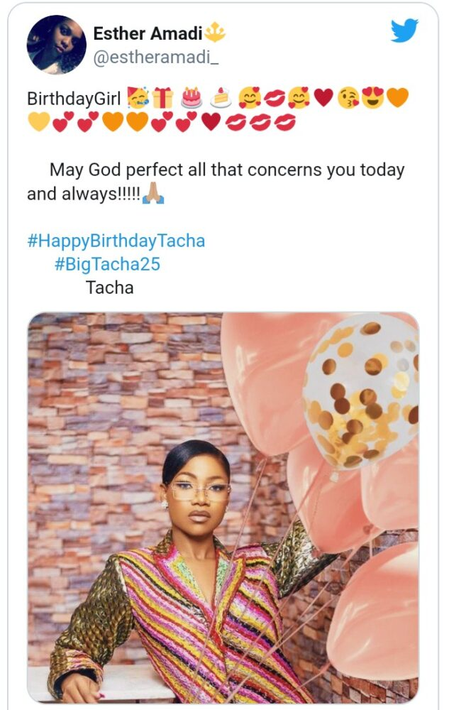 """Screenshot_20201223-151553-633x1000 Made in 1995"""" – Tacha celebrates 25th birthday with adorable photos"""