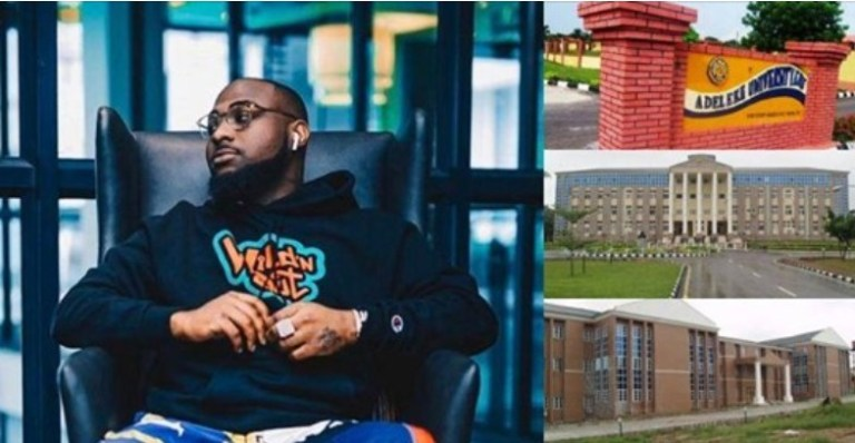 UCScreenshot20201223124452 Davido shows off his father's school, Adeleke University