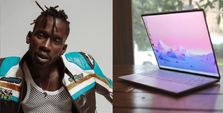 UCScreenshot20201223141216 Mr. Eazi Gets Surprised By Fan With A New Laptop After He Was Robbed in Ghana