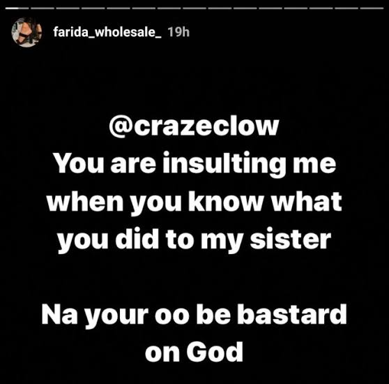 images-10 Lady who said Crazeclown's unborn child might die, accuses him of impregnating her sister and abandoning child