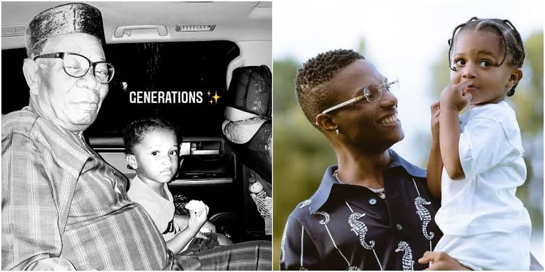 images-2 Wikid's 3rd son, Zion finally meets his grandfather (Photo)