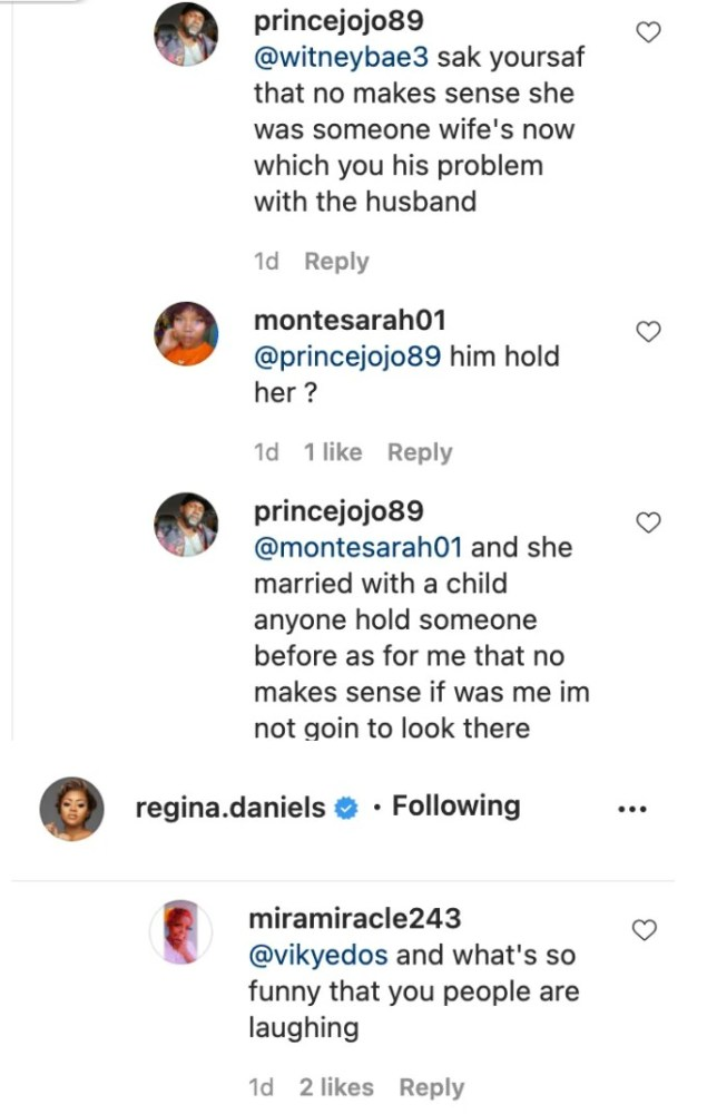 Screenshot_20201226-181747-635x1000 You Need To Leave Her Alone, She Is Married Now & Life Goes On' – Somadina's Recent Comment About Regina Daniels' Post Causes Stir