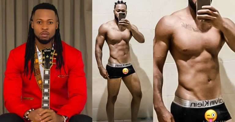 UCScreenshot20210105091105 Flavour's Huge Cassava on Short Boxer causes Commotion Online between Ladies