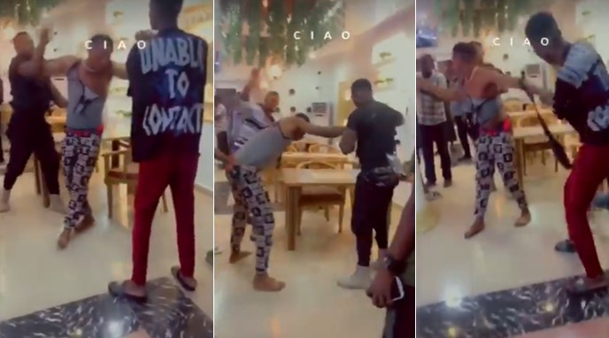 man-beating-transfer-ft Young man receives serious beating for paying with fake transfer