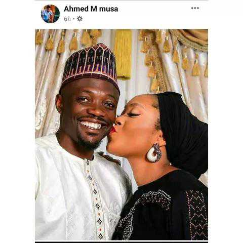 """musa-and-wife """"you need to go back to Islamic school"""" – Ahmed Musa Dragged By Some Northern Muslim Followers Over A Photo He Shared On Social Media"""