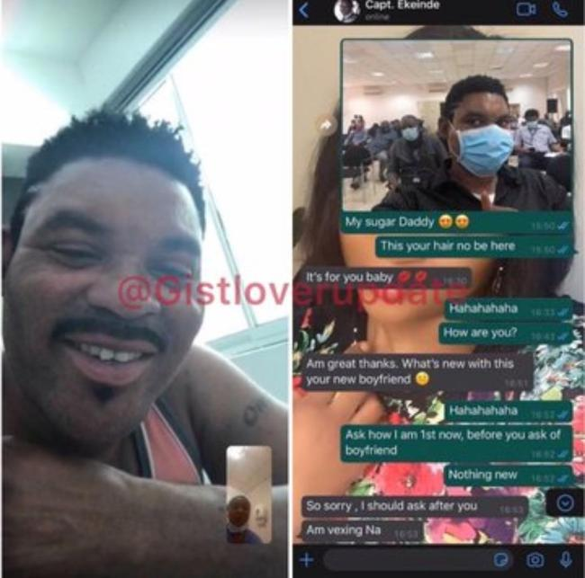 omotola-husband-chat Leaked chat between Omotola's husband and his side chic surfaces