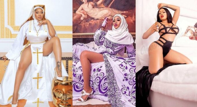 UCScreenshot20210329210658 Toyin Lawani Releases Photo Of Herself In $e.xy Muslim Outfit After Being Dragged Over Her Racy Nun Photos