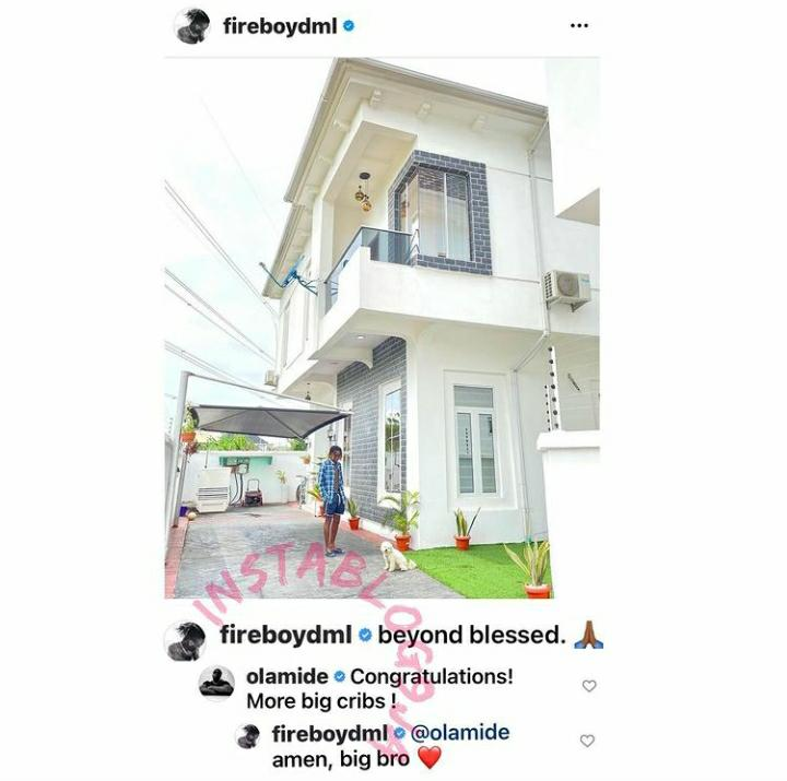 """cfd42eb4-ada9-4e3f-b07c-28c85edb0c97 """"Beyond Blessed"""" – Fireboy Says as He Flaunts is Multi Millionaire Mansion in Lagos, Olamide React"""